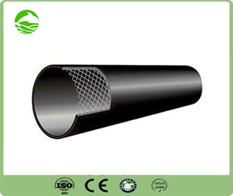 Steel wire skeleton (PE) composite pipe